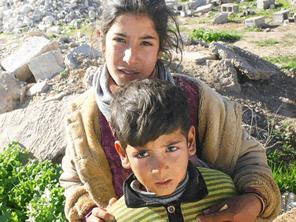 イラクの子供たちの心の傷をケアする