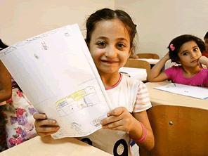 クルド自治区アルビル県に学校を建設する