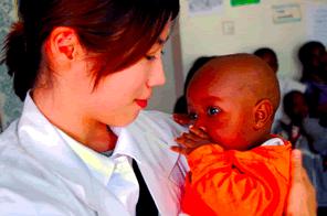 ケニアの診療所の閉鎖の危機回避の支援をする