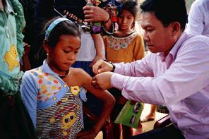 20円のワクチンで子供一人の命が救えます