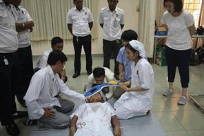 日本の救急救命のスキルをカンボジアへ