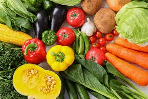 ゴミと野菜を交換する