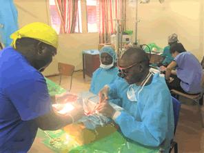 ザンビアに高度な手術ができる環境を支援する